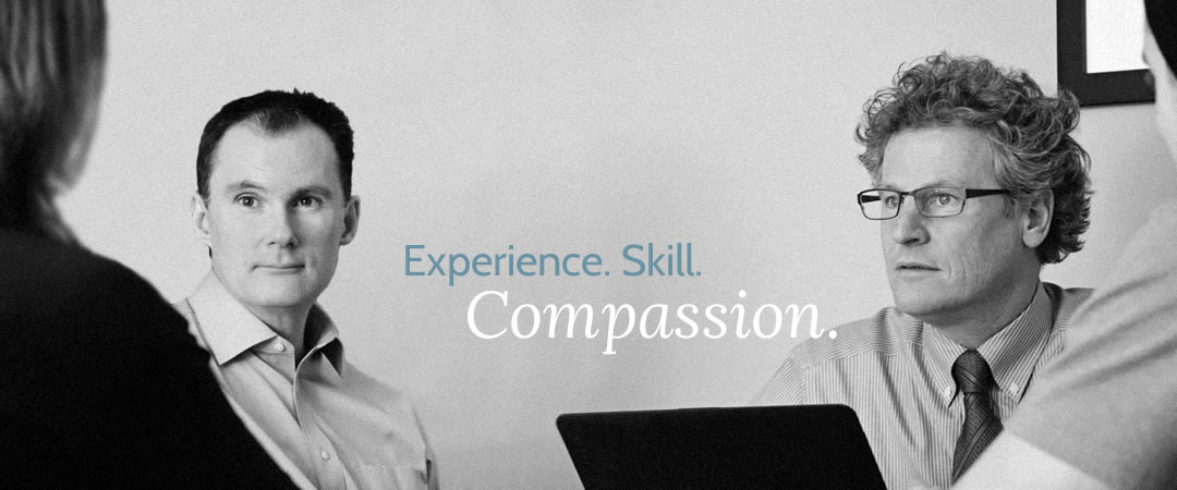 Experience. Skill. Compassion.
